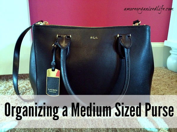 Organizing a Medium Sized Purse