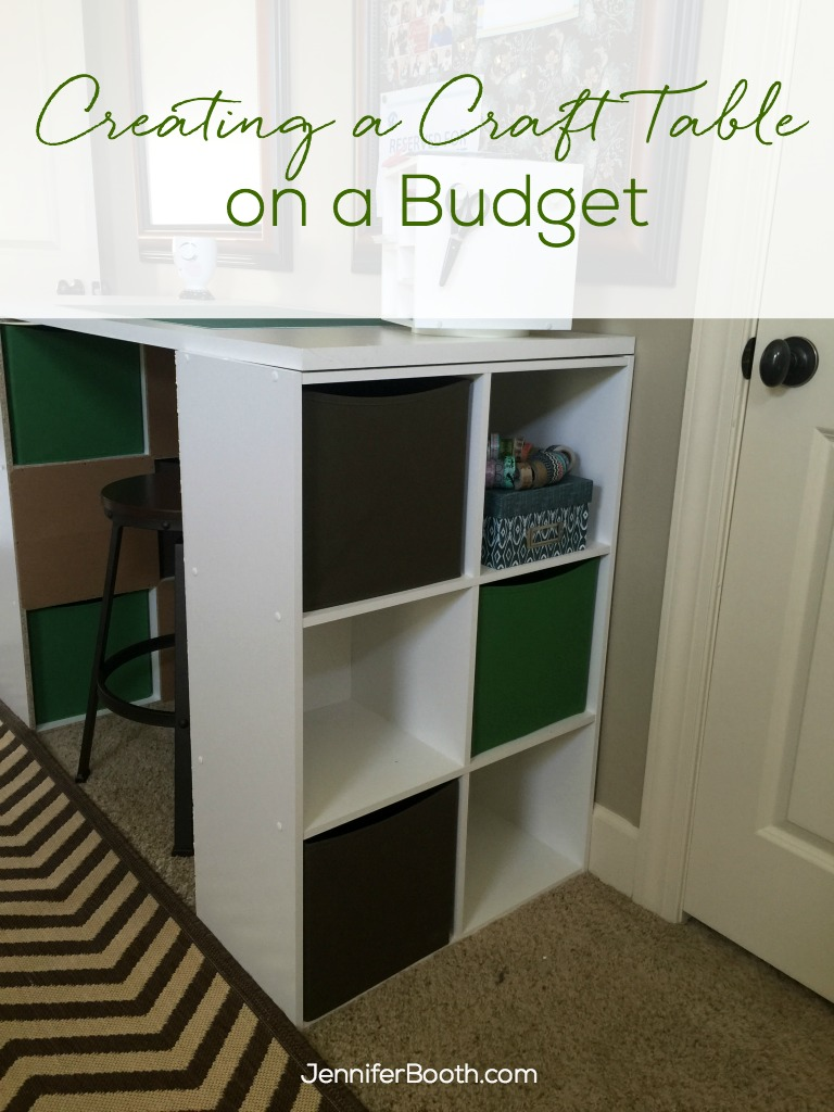 Creating a Craft Table