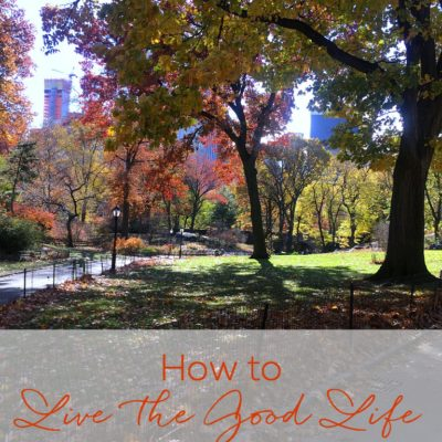 How to Live the Good Life in the New Year