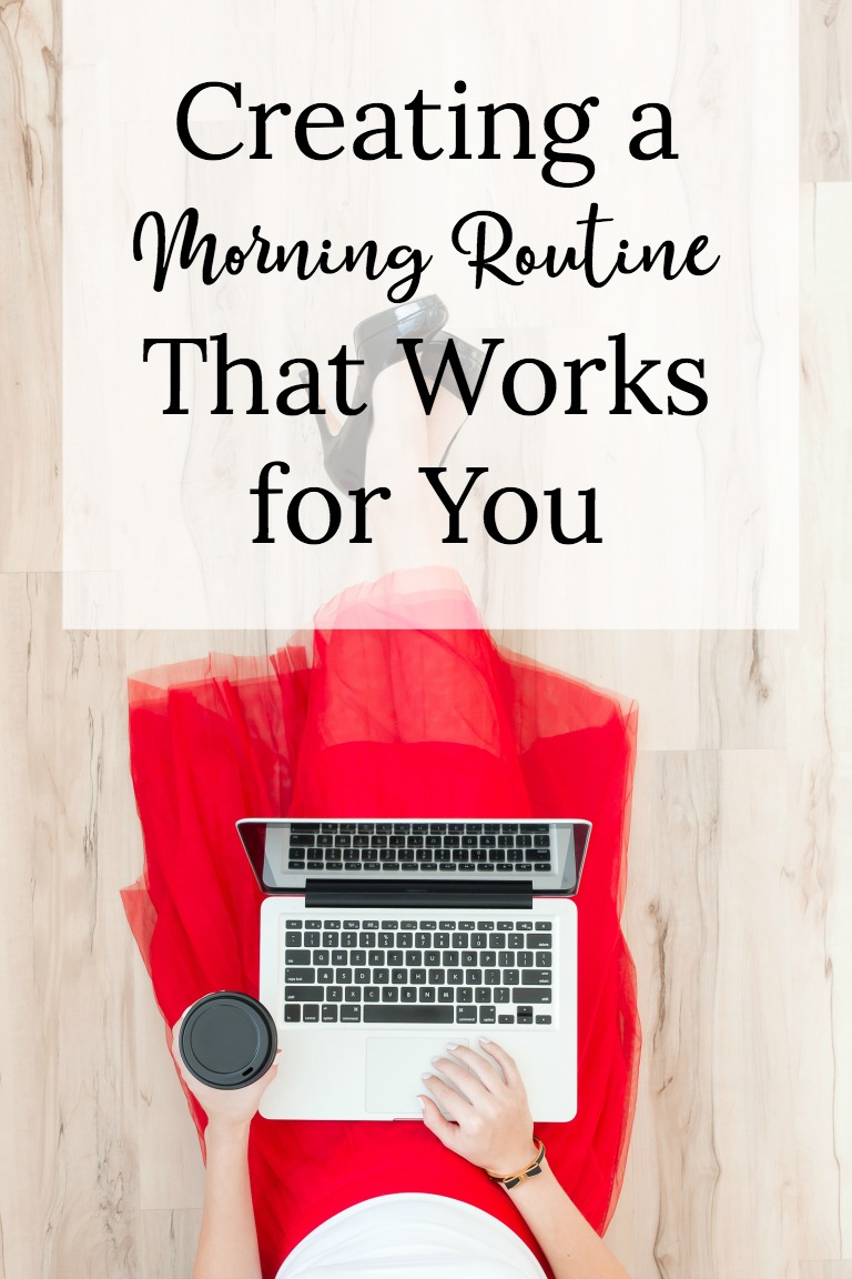 It's hard to get going in the morning sometimes isn't it? Check out how you can create a morning routine that works for you to help you be more productive.