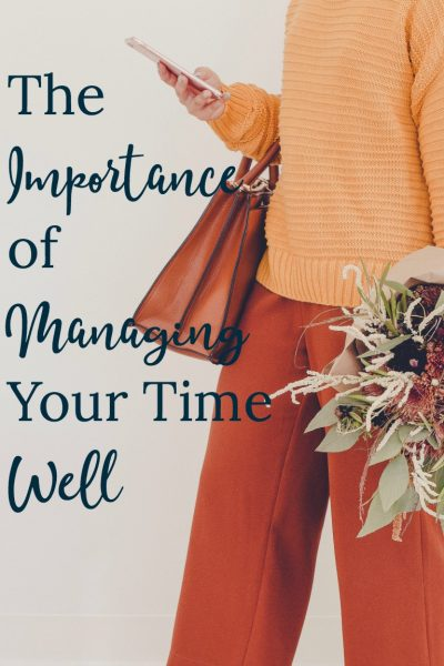 Struggling with motivation to get things done? Read to see why it's important to manage your time well so you can find motivation.