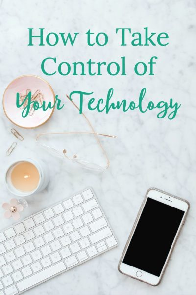 Technology can be a good tool for productivity. However it can be a distraction, too. Learn how you can take control of your technology and make it work for you.