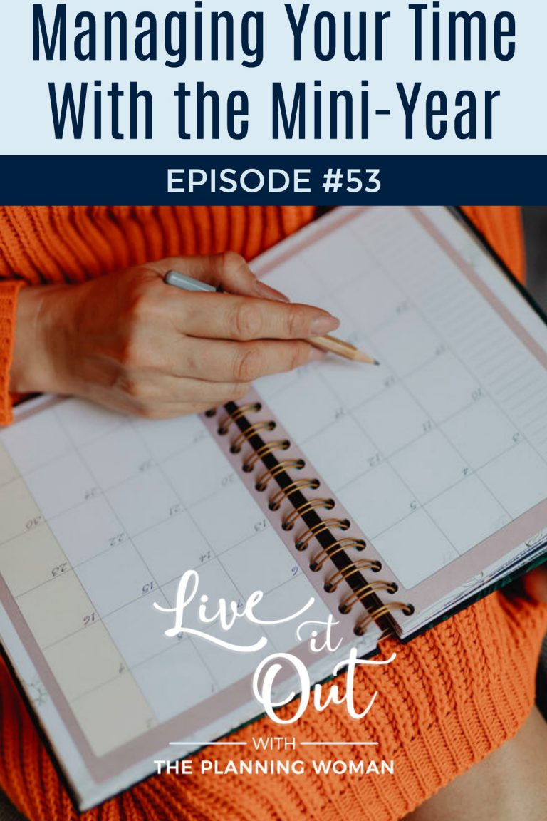 053:  Managing Your Time With the Mini-Year