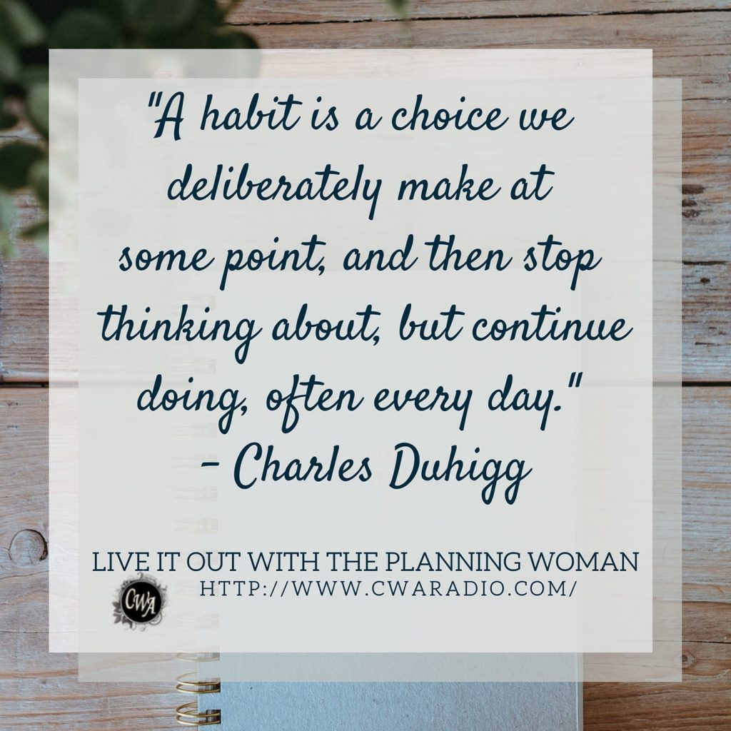Episode 52 of Live It Out With The Planning Woman