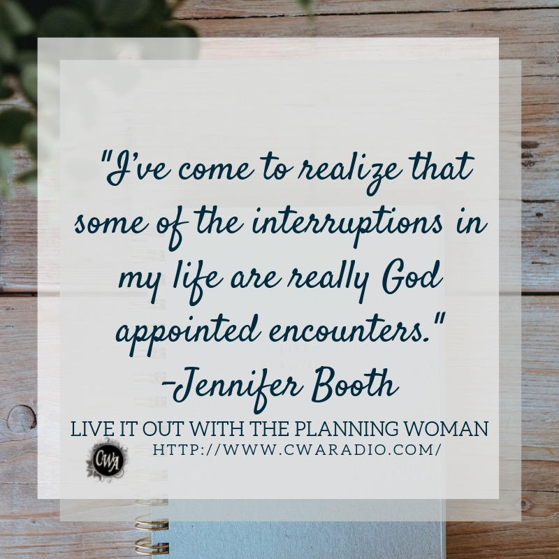 Episode 58 of Live It Out With The Planning Woman