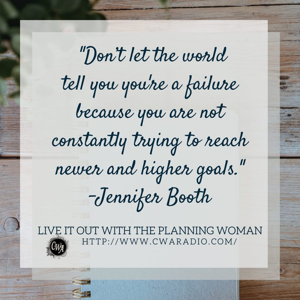 Episode 59 of Live It Out With The Planning Woman