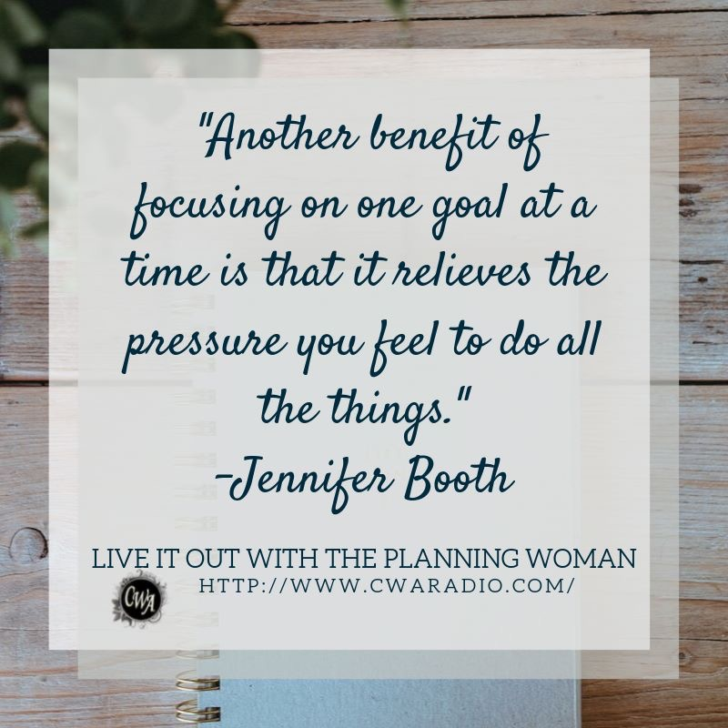 Episode 60 of Live It Out With The Planning Woman