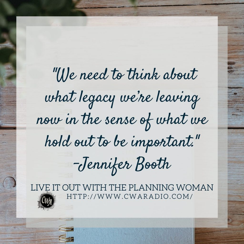 Episode 61 of Live It Out With The Planning Woman