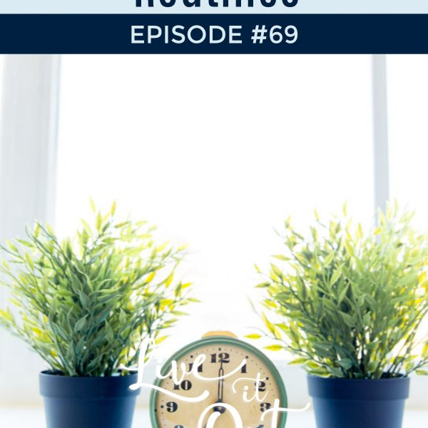 Routines can be a powerful tool to hep you manage your time well. Listen to the latest episode of Live It Out With The Planning Woman to hear how you can create routines in 5 easy steps.