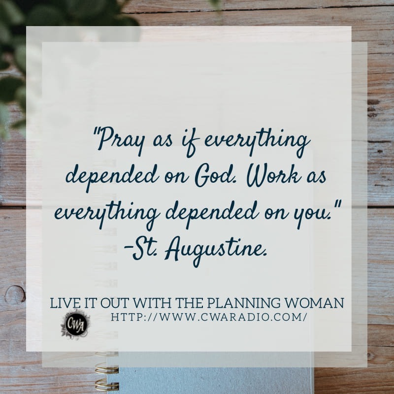 Episode 62 of Live It Out With The Planning Woman