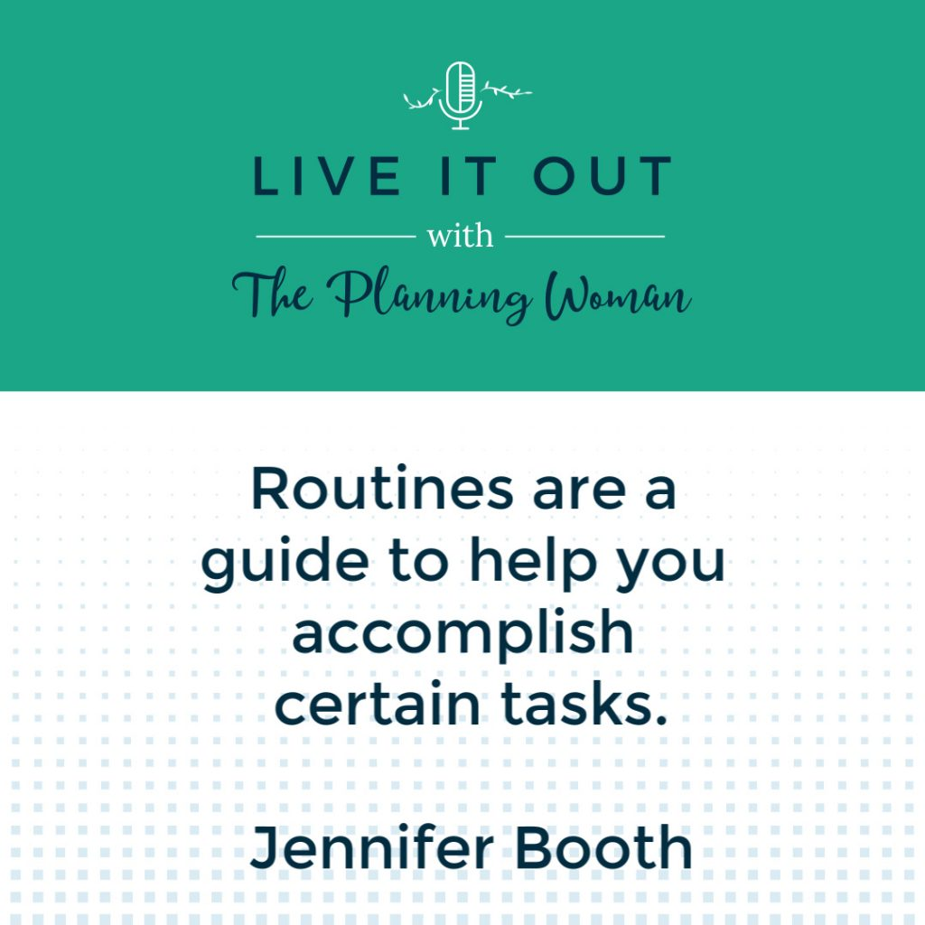 Episode 69 of Live It Out With The Planning Woman