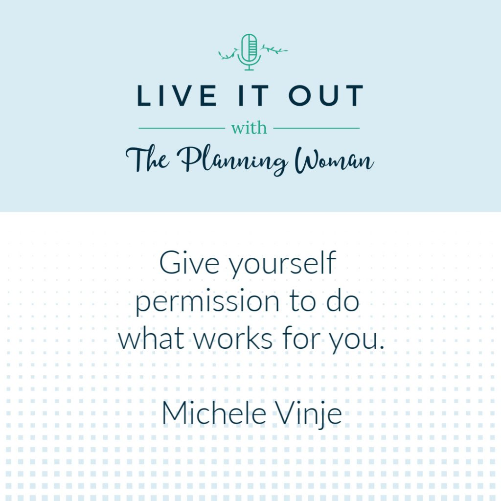 Episode 68 of Live It Out With The Planning Woman