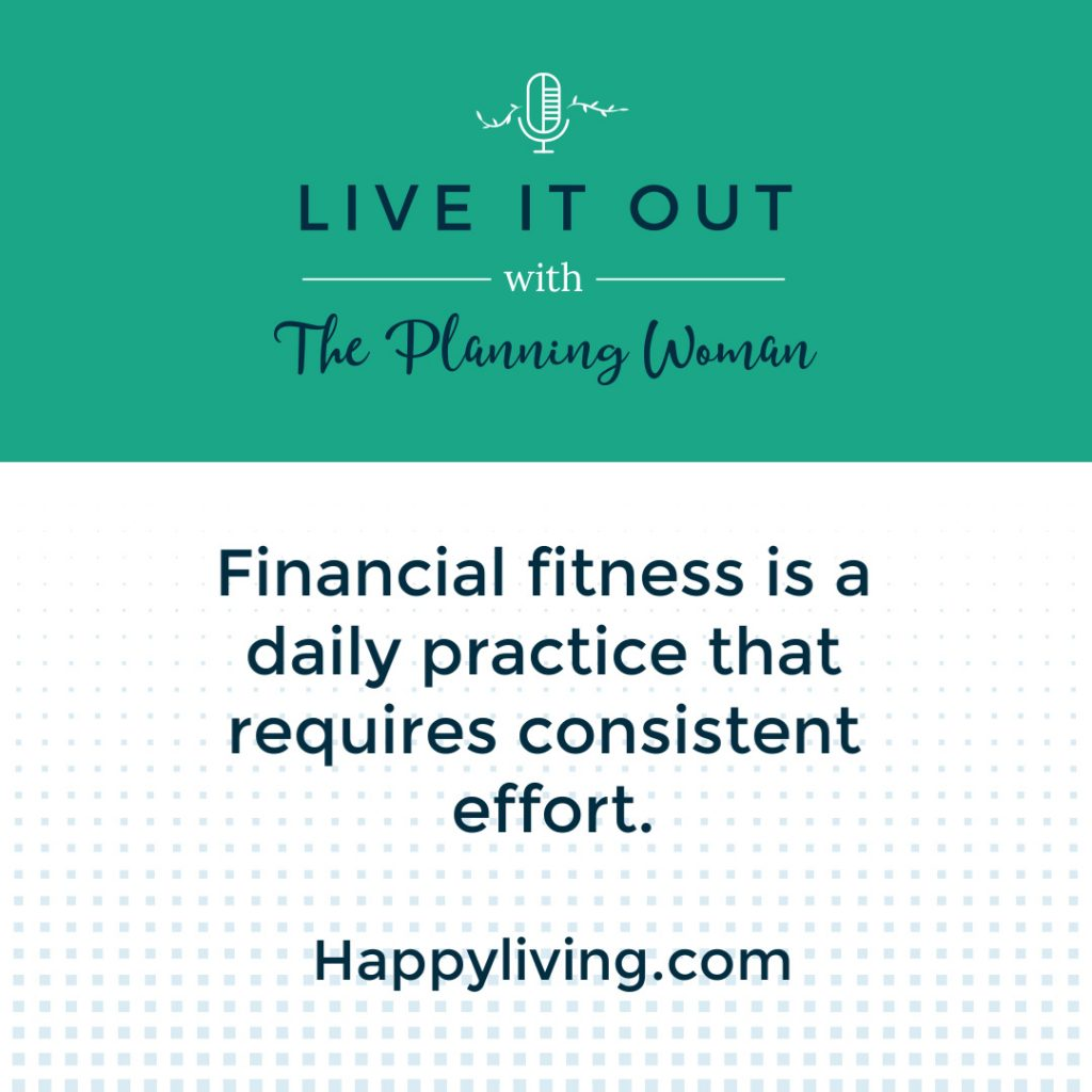 Episode 78 Quote from Live It Out With The Planning Woman