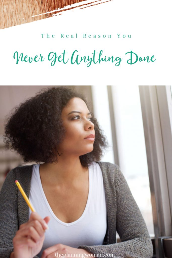 Do you feel like you are busy all day long but have nothing to show for it? Learn what may be holding you back and what you can do about it.