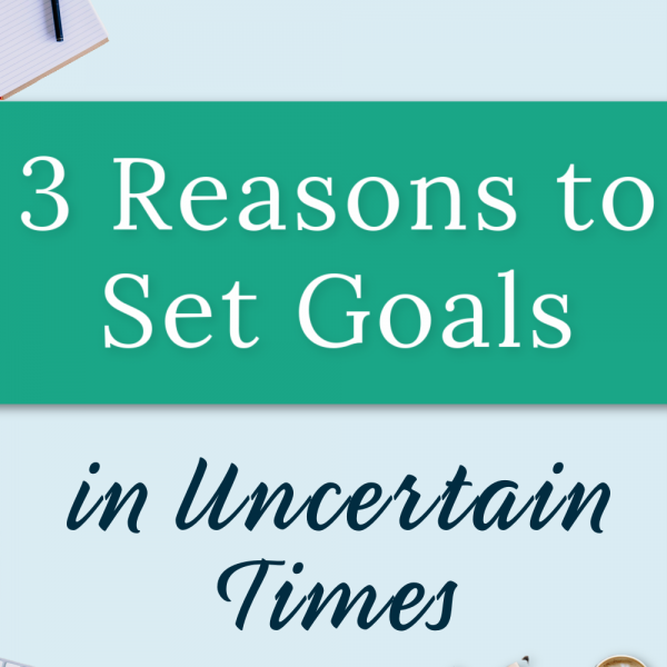 Are you unsure of how 2021 will turn out? Discouraged about setting goals? Read why you need to still set goals despite the uncertainties of life.